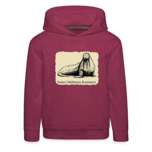 The Old Walrus - Kids' Premium Hoodie