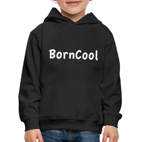 BornCool, vit - Premium-Luvtröja barn
