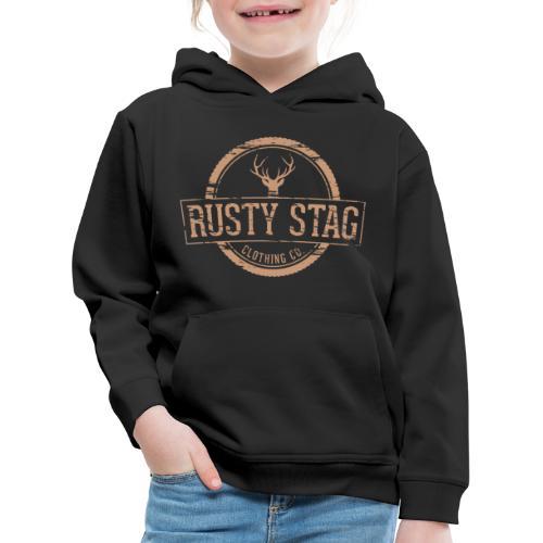 Rusty Stag Badge Tee - Kids' Premium Hoodie