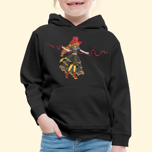 Ladybird - La célèbre uchronaute - Pull à capuche Premium Enfant