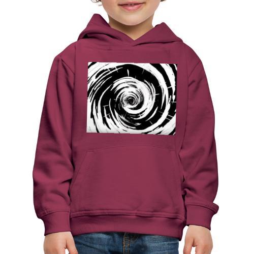 Techno Wirbel - Kinder Premium Hoodie