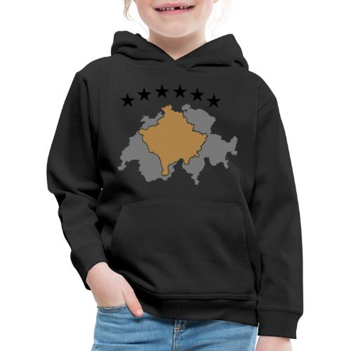 Kosovo Schweiz - Kinder Premium Hoodie