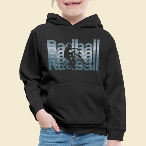 Radball   Typo Art - Kinder Premium Hoodie
