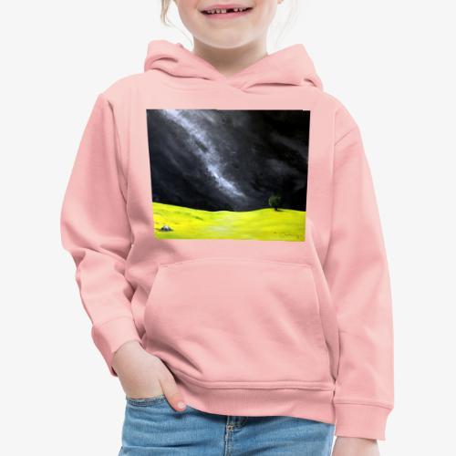Oryginalny obraz Cisza - Bluza dziecięca z kapturem Premium