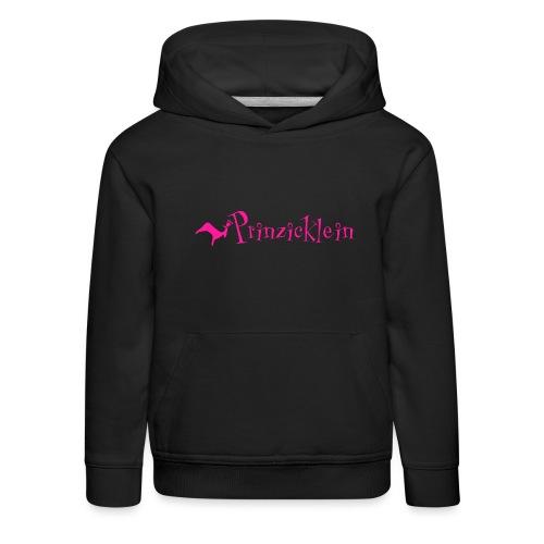Prinzicklein: Mädchenshirt mit Charakterstärke - Kinder Premium Hoodie
