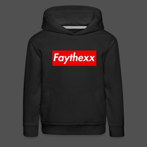 Faythexx Red Style - Kids' Premium Hoodie