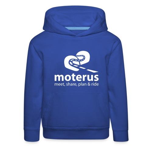 Moterus Vertical - Sudadera con capucha premium niño