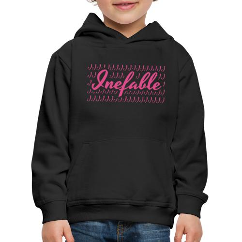 Inefable Happy/Sad. - Sudadera con capucha premium niño