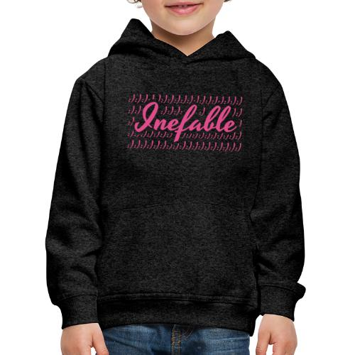 Inefable Happy/Sad. - Sudadera con capucha premium niño