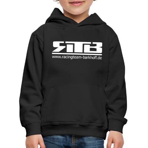 RTB Logo Clean (Weiß) - Kinder Premium Hoodie