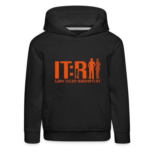 tichy logo klein - Kinder Premium Hoodie