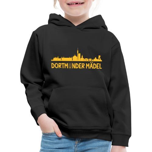 Dortmunder Mädel Skyline - Kinder Premium Hoodie