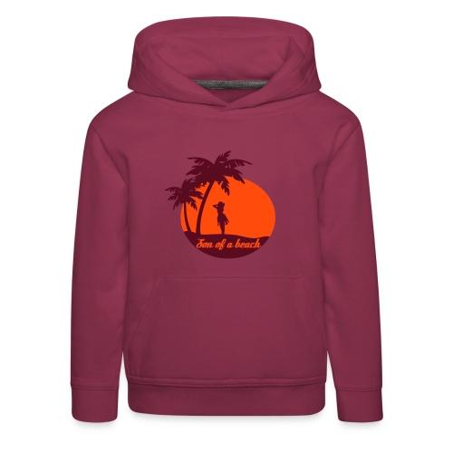 20110519 ytb shirt son rotorange pfade - Kinder Premium Hoodie