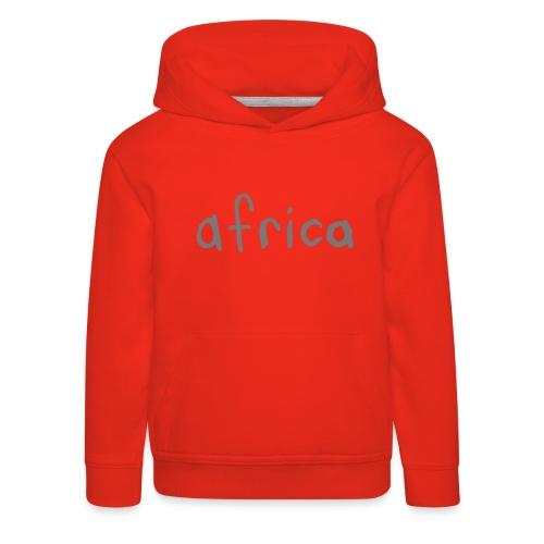 africa word - Kids' Premium Hoodie