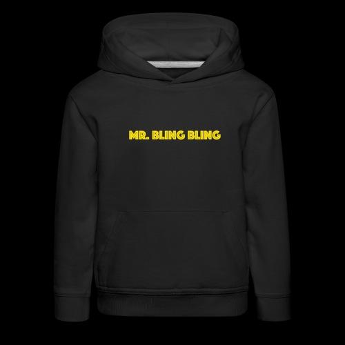 bling bling - Kinder Premium Hoodie