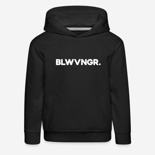 BLWVNGR. | Wit - Kinderen trui Premium met capuchon