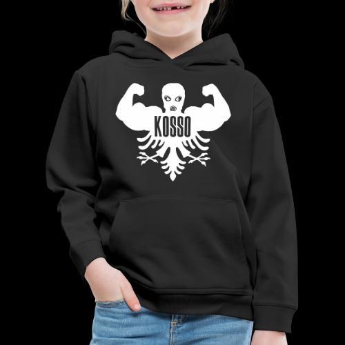 logo kosso - Kinderen trui Premium met capuchon
