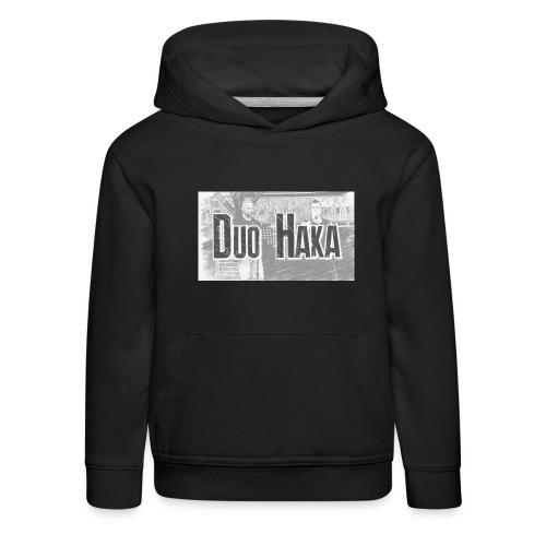 Duo Haka - Lasten premium huppari