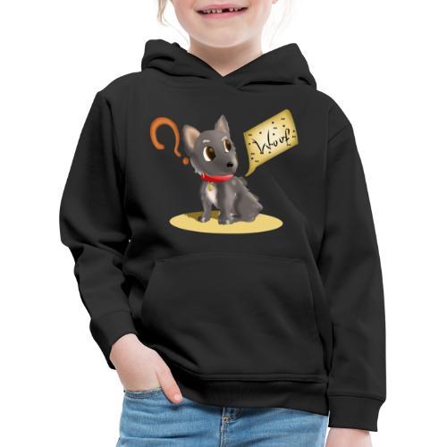 Perro - Sudadera con capucha premium niño