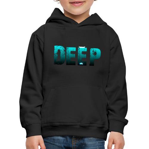 Deep In the Night - Felpa con cappuccio Premium per bambini