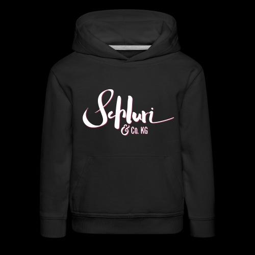 Schluri - Kinder Premium Hoodie