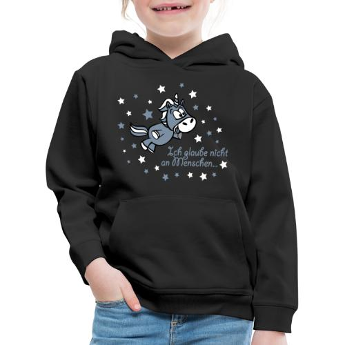 Ich glaube nicht an Menschen - Kinder Premium Hoodie