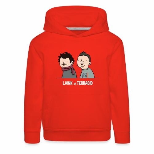 Laink et Terracid old - Pull à capuche Premium Enfant