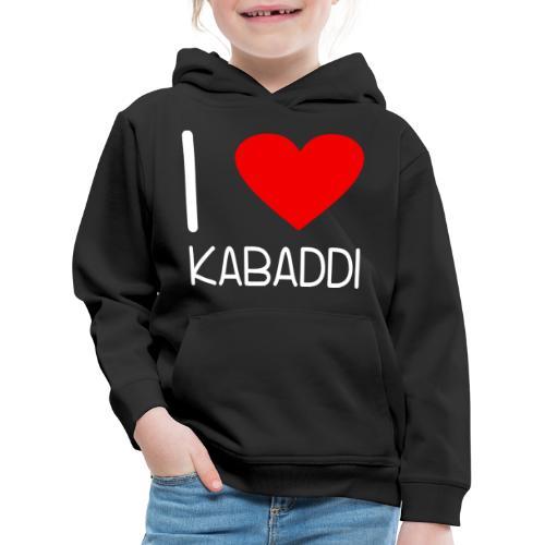 Kabaddi Kabadi Sportart India Südasien Shirt Gesch - Kinder Premium Hoodie