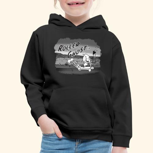 roller ghost - Kinder Premium Hoodie