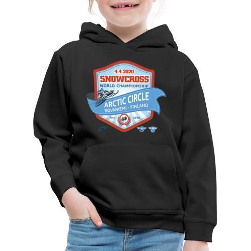 MM Snowcross 2020 virallinen fanituote - Lasten premium huppari