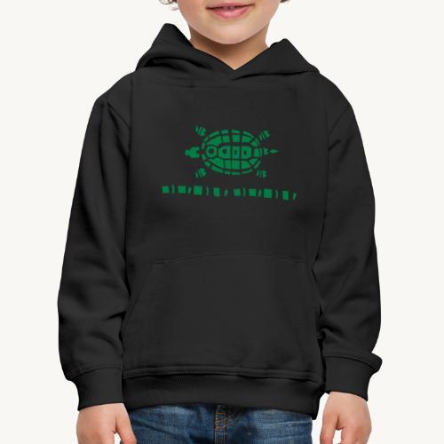 Stein - Schere - Papier Schildkröte - Kinder Premium Hoodie