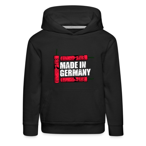 Silvester Feuerwerk Deutsche Knaller - Kinder Premium Hoodie
