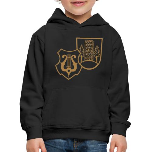 MVW Welden Logo Schwarz gross - Kinder Premium Hoodie