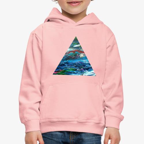 Trójkąt galaktyki - Bluza dziecięca z kapturem Premium
