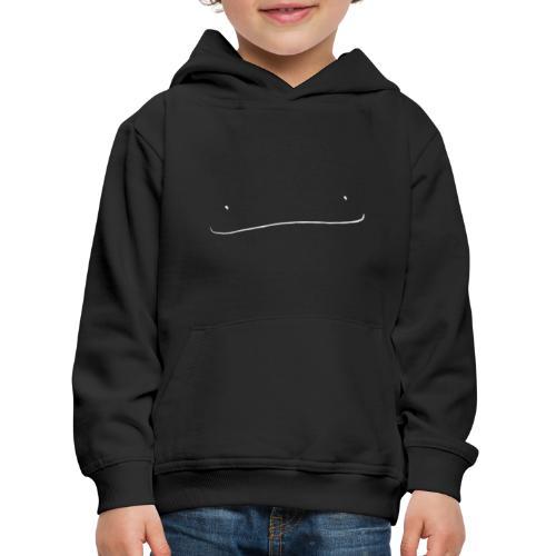 De glimlach - Kinderen trui Premium met capuchon