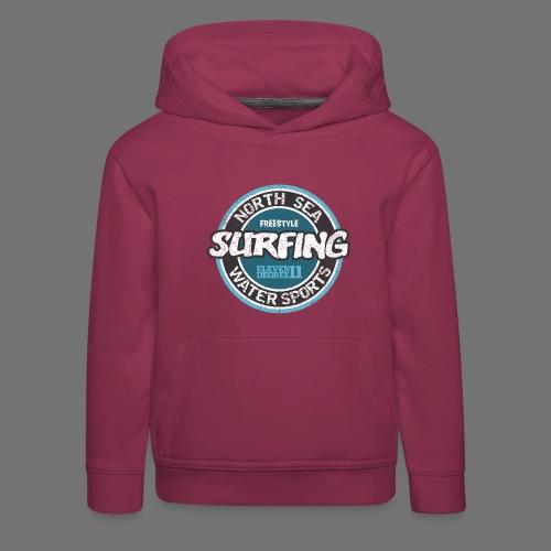 North Sea Surfing (oldstyle) - Kinder Premium Hoodie