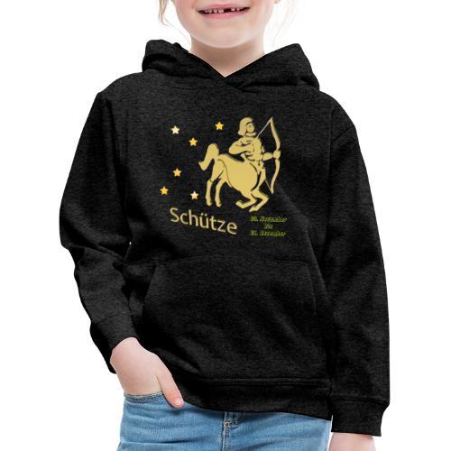 Sternzeichen Schütze - Kinder Premium Hoodie