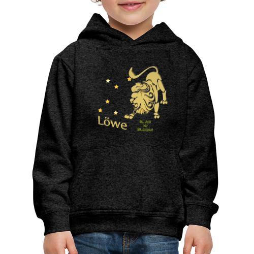 Sternzeichen Löwe - Kinder Premium Hoodie