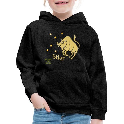 Sternzeichen Stier - Kinder Premium Hoodie