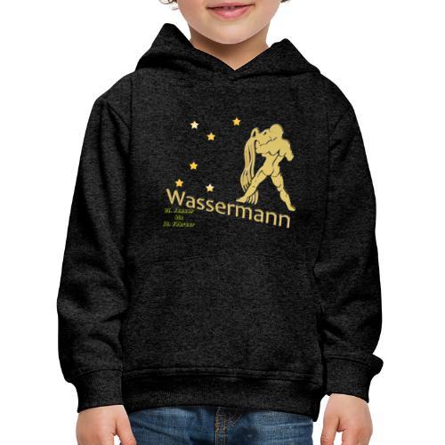 Sternzeichen Wassermann - Kinder Premium Hoodie