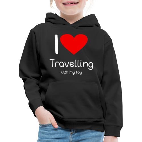 Spielzeug Reisen ToyVoyaging Shirt Geschenk - Kinder Premium Hoodie