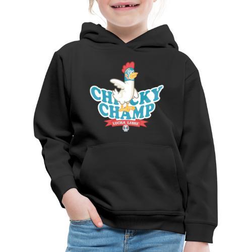 Chicky Champ - Felpa con cappuccio Premium per bambini