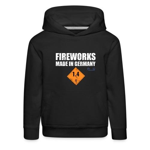 Feuerwerk aus Deutschland Pyrotechnik - Kinder Premium Hoodie