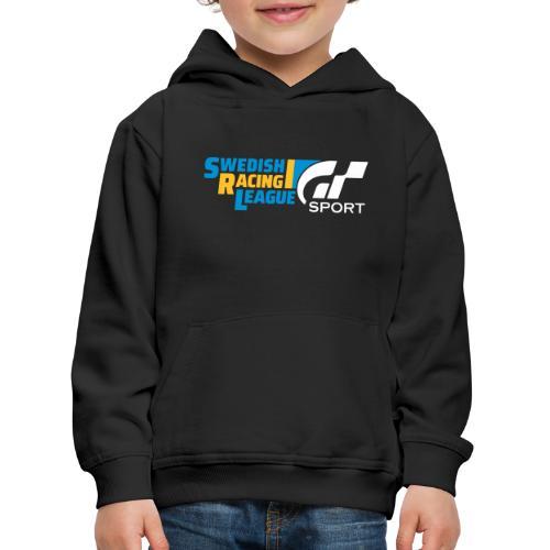Swedish Racing League GT Sport vit - Premium-Luvtröja barn