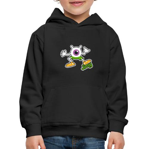 Jimy Full (Color) - Pull à capuche Premium Enfant