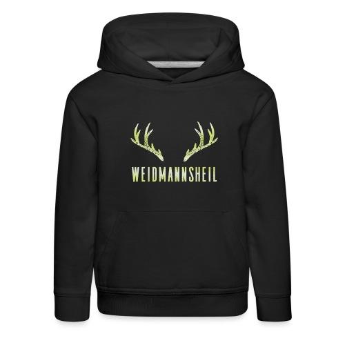 Weidmannsheil - Kinder Premium Hoodie