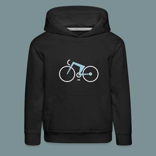Bikes against cancer - Premium hættetrøje til børn