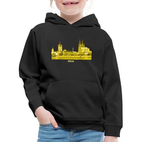 Köln Dom Rhein Nordrhein-Westfalen Deutschland - Kinder Premium Hoodie