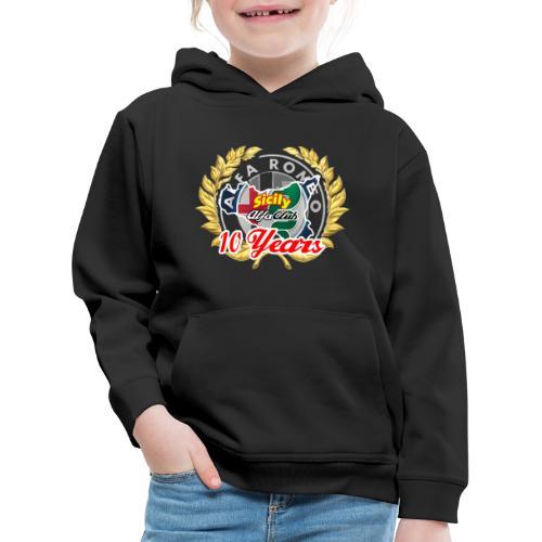 logo10 anni - Felpa con cappuccio Premium per bambini