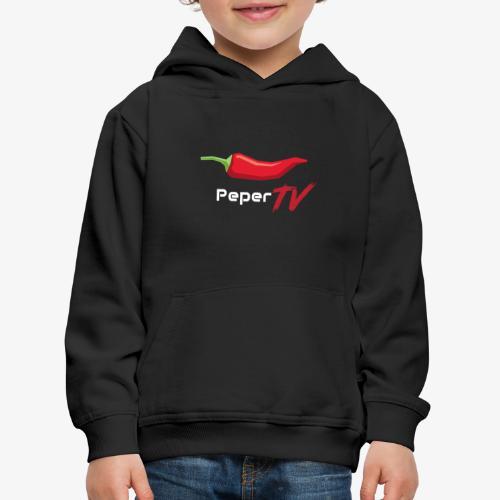 PeperTV - Kinderen trui Premium met capuchon